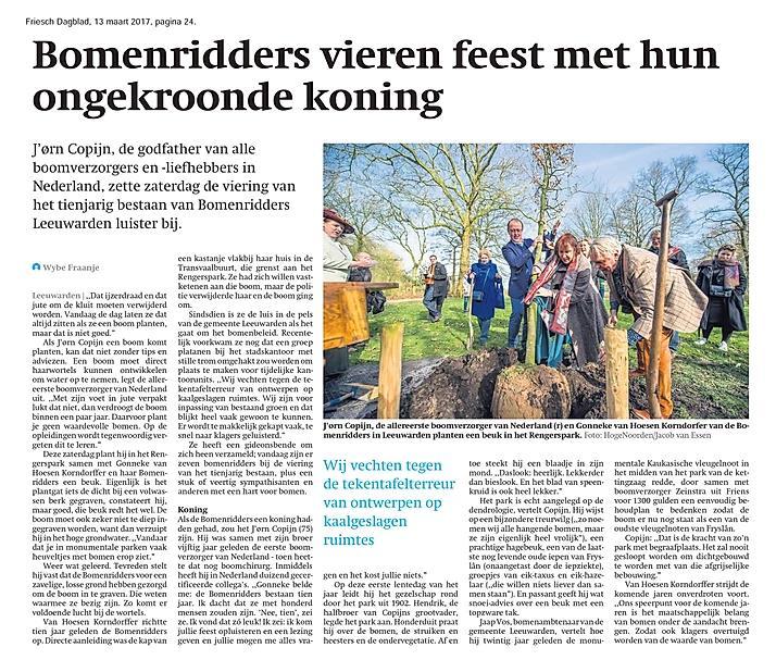 Jubileum verslag Friesch Dagblad